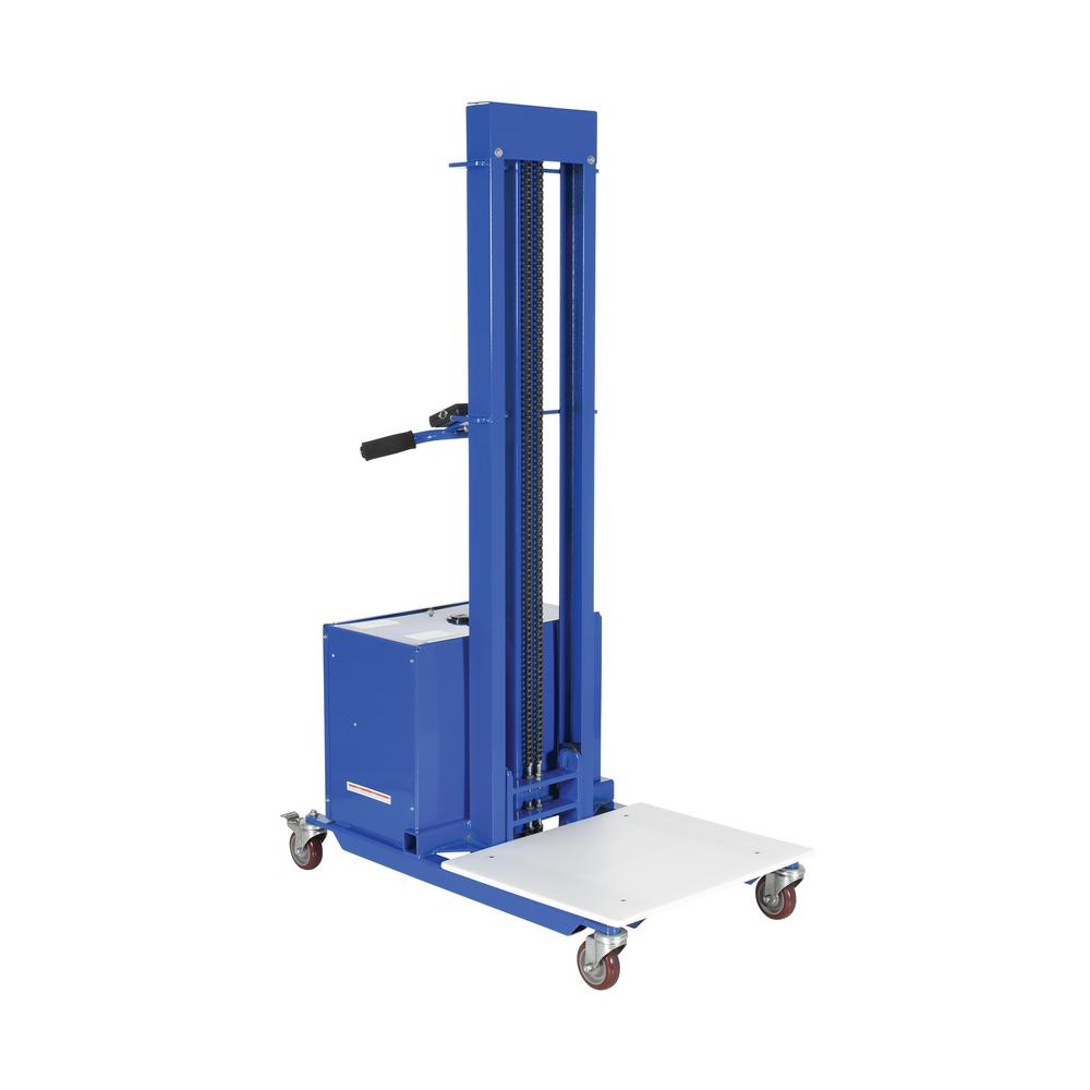 400 lb. Capacity 57 in. Tall DC Powered Steel Quick-Lift