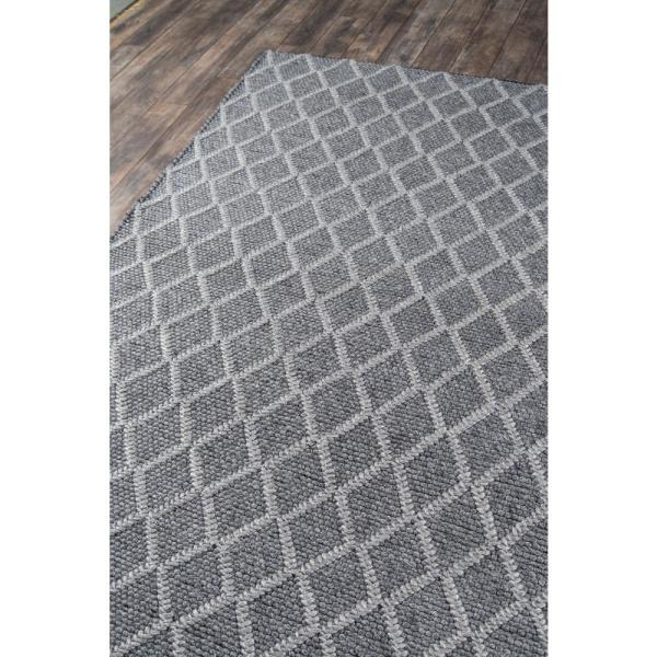 Momeni Andes Charcoal 5 Ft X 7 Ft Indoor Area Rug Andesand 7chr5070 The Home Depot