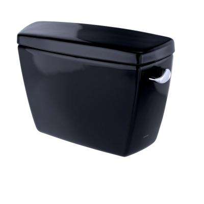 Drake 1.6 GPF Single Flush Toilet Tank Only with Right Hand Trip Lever in Ebony