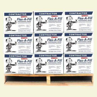 Flex-A-Fill Pallet 30 lbs. Cartons Hot-Applied Asphalt Crack Sealant (45-Boxes/Pallet)