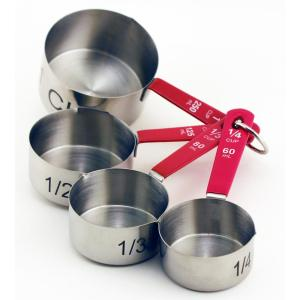 Click here to buy BergHOFF Stainless Steel Measuring Cups (Set of 4) by BergHOFF.