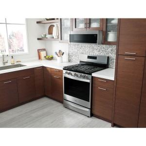 12 Whirlpool 1 Cu Ft Over The Range Low Profile Microwave
