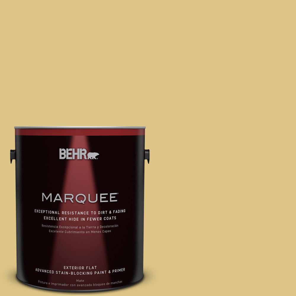 BEHR MARQUEE 1-gal. #390D-5 Sea Kelp Flat Exterior Paint