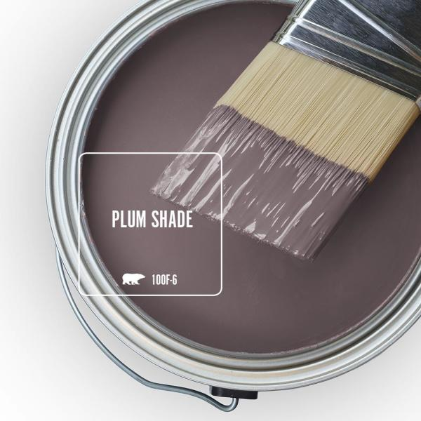 Reviews For Behr Ultra 1 Gal 100f 6 Plum Shade Extra Durable Satin Enamel Interior Paint Primer 775301 The Home Depot