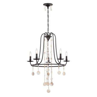 Matira 5-Light Oil Rubbed Bronze Chandelier