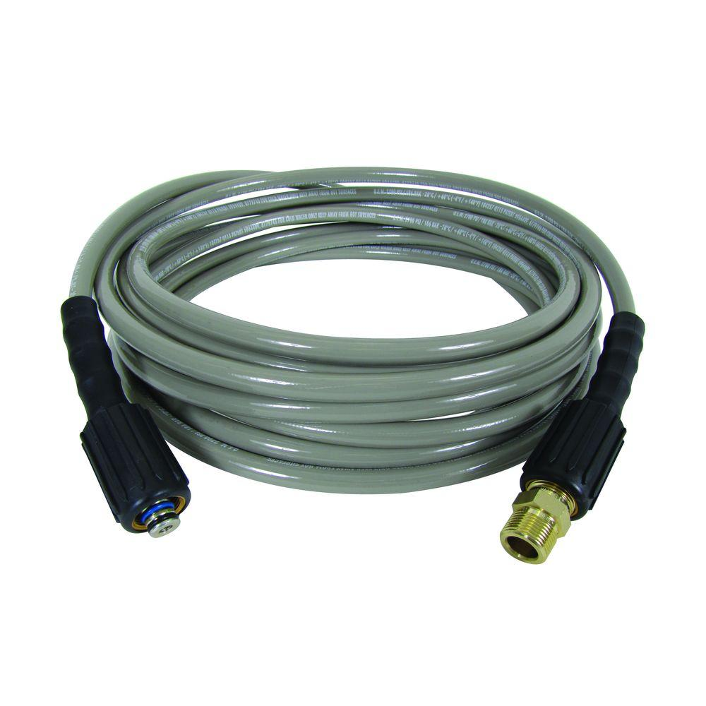Powercare 3,600 psi 9/32 in. x 30 ft. Replacement/Extension Hose with Adapter for Gas Pressure Washer