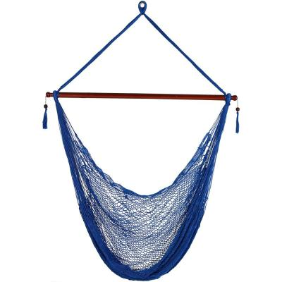 Hanging Cabo 6 ft. X-Large Hammock Chair in Blue