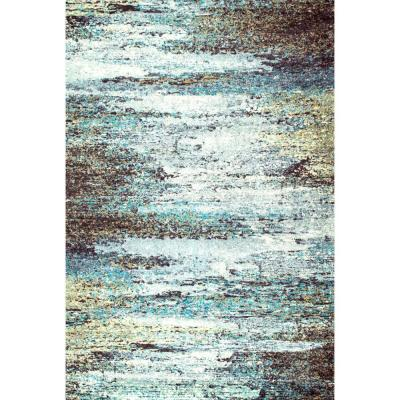 Monet Abstract Multi 6 ft. x 9 ft. Area Rug