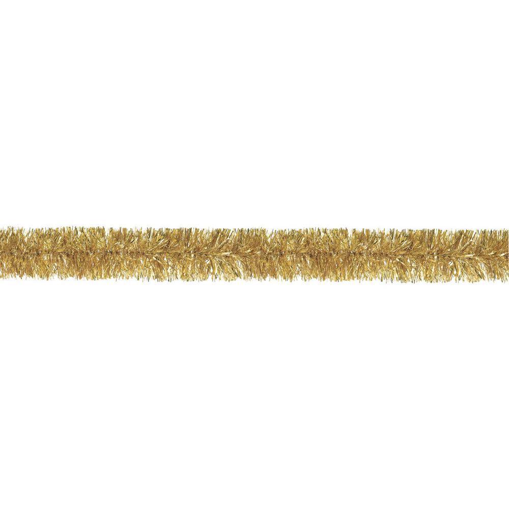 9 ft. Gold Tinsel Boa Garland (2-Pack)