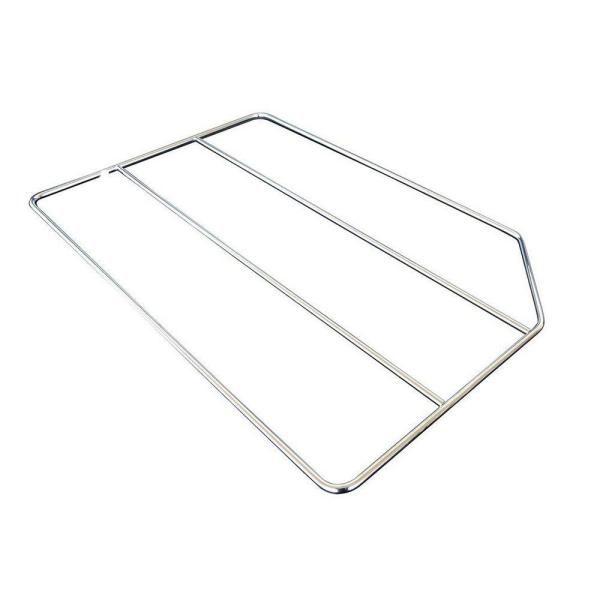 Home Decorators Collection 20x0.25x18 in. Tray Divider in Gloss Chrome TD18CR