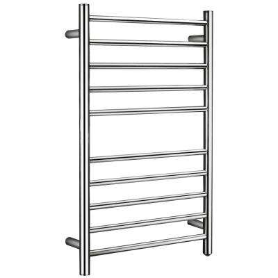 Bali Series 10-Bar Stainless Steel Wall Mounted Electric Towel Warmer in Polished Chrome