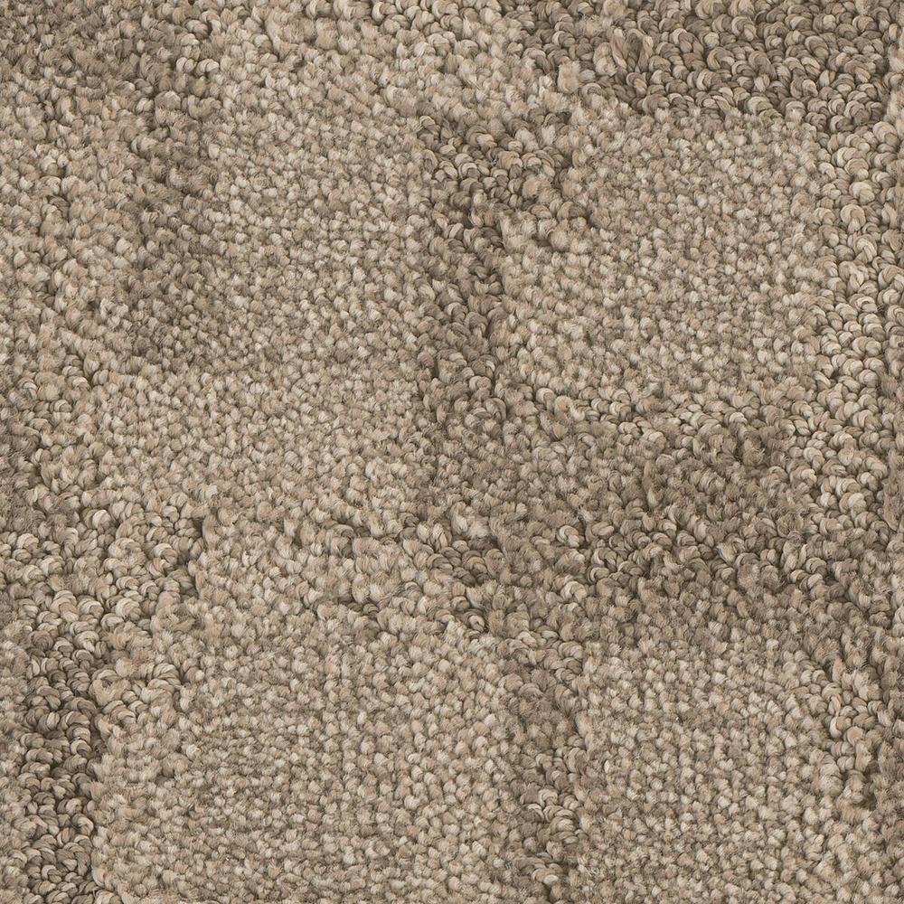 Carpet Sample - Open Wheel - Color Twirl Pattern 8 in. x 8 in.
