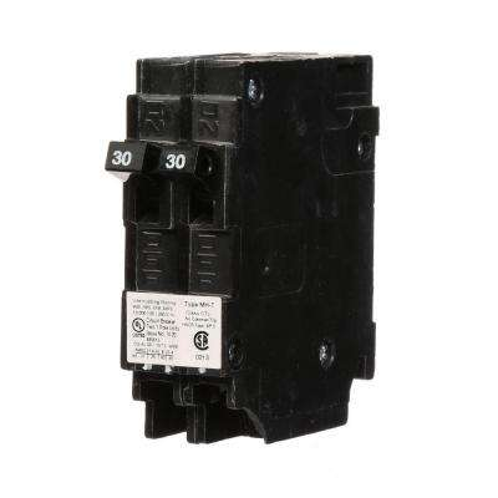 30 Amp Tandem Single-Pole Type MH-T Circuit Breaker