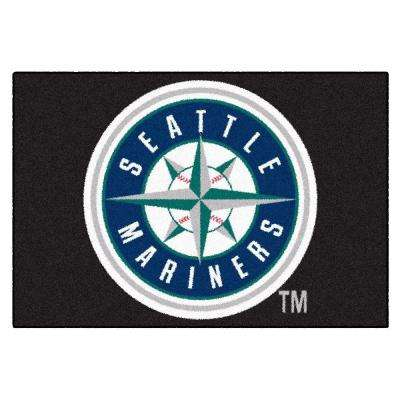 Seattle Mariners 19 in. x 30 in. Accent Rug