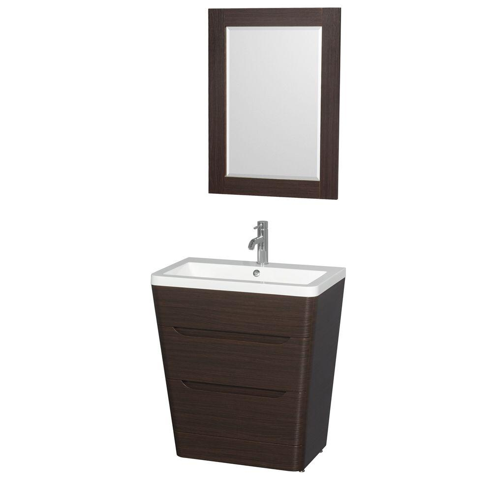 Superieur W X 19 In. D Vanity In Espresso With