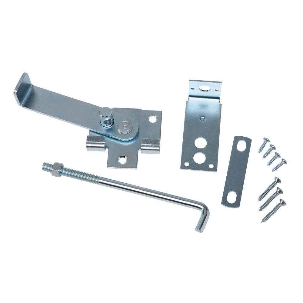 Crown Bolt Zinc Plated Jamb Latch With 7 In Hook 63069 The Home Depot