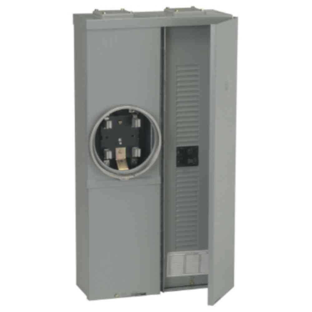 Power Mark Gold 100 Amp 16-Space 32-Circuit Meter Socket Load Center