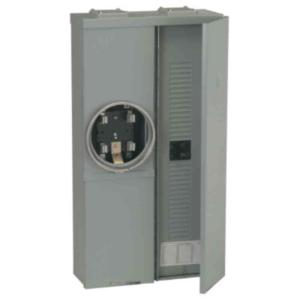 GE Power Mark Gold 100 Amp 16-Space 32-Circuit Meter Socket Load Center by GE