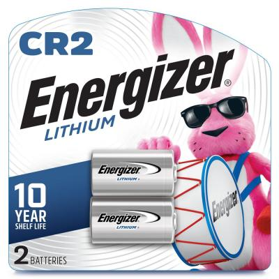 CR2 Lithium Battery (2-Pack)