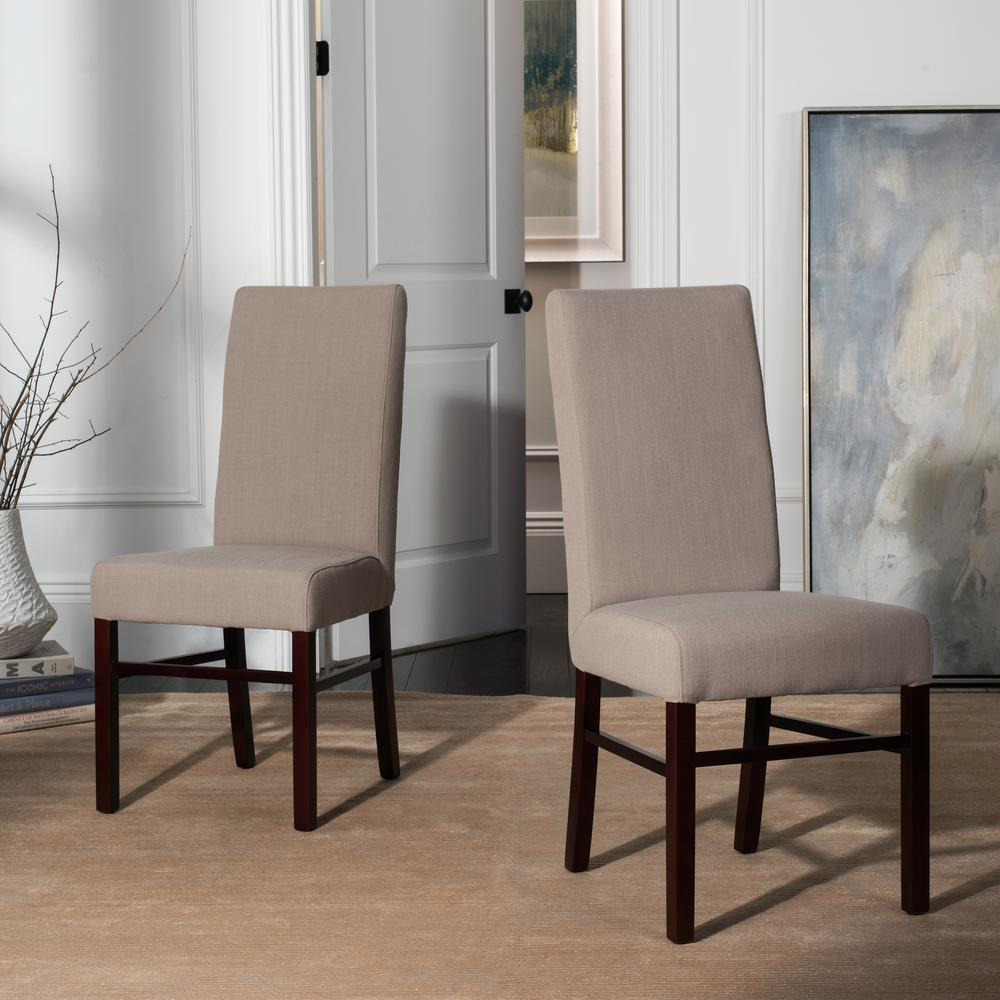 Safavieh True Taupe Dining Chair (Set of 2)