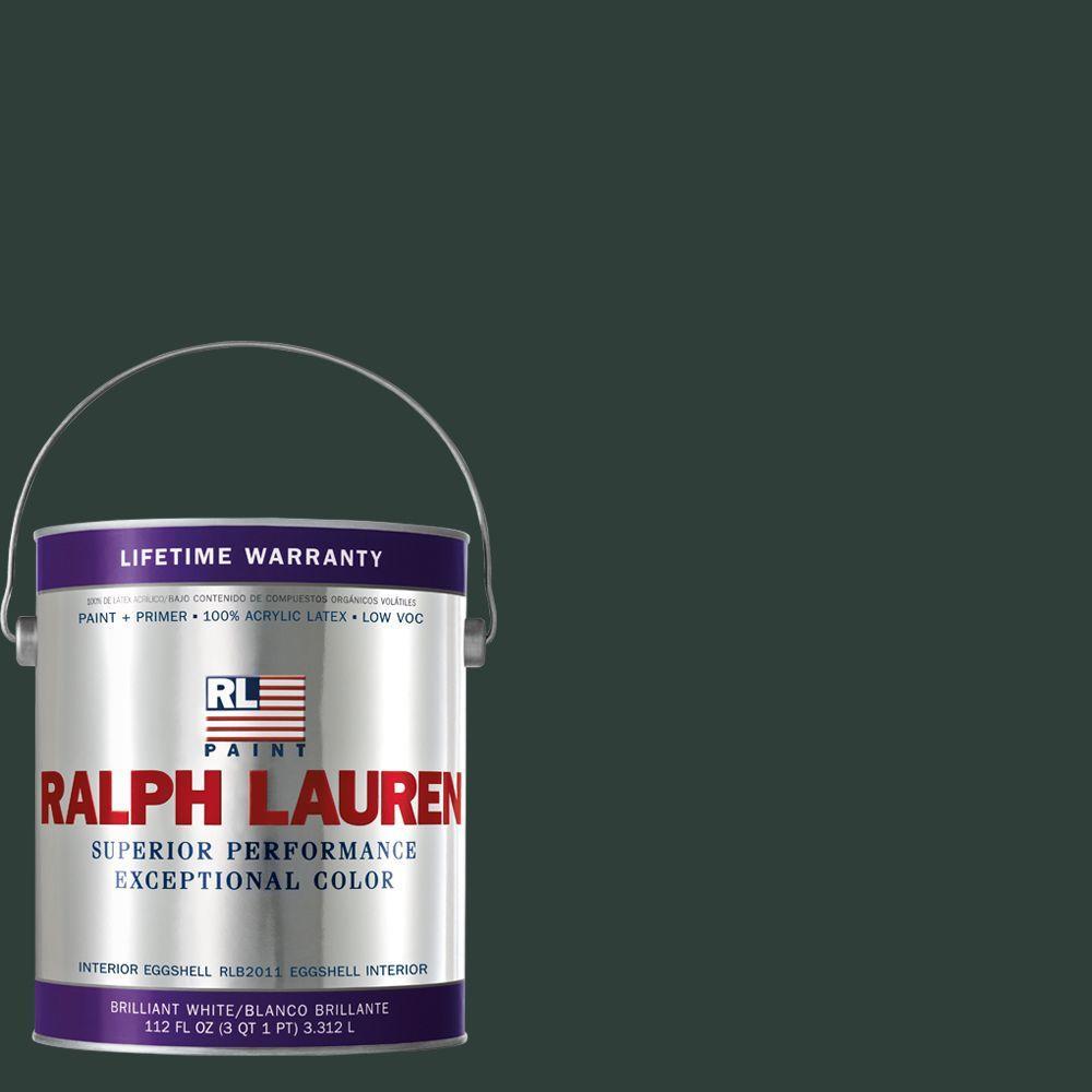 Ralph Lauren 1-gal. Scholar Green Eggshell Interior Paint