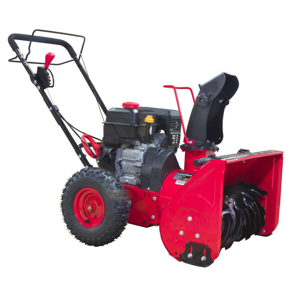 Two-Stage Manual Start Gas Snow Blower