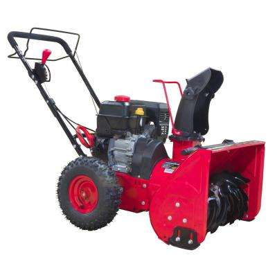 22 in. 2-Stage Manual Start Gas Snow Blower