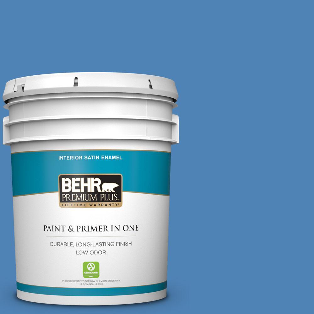 Ppu15 06 Neon Blue Satin Enamel Low Odor
