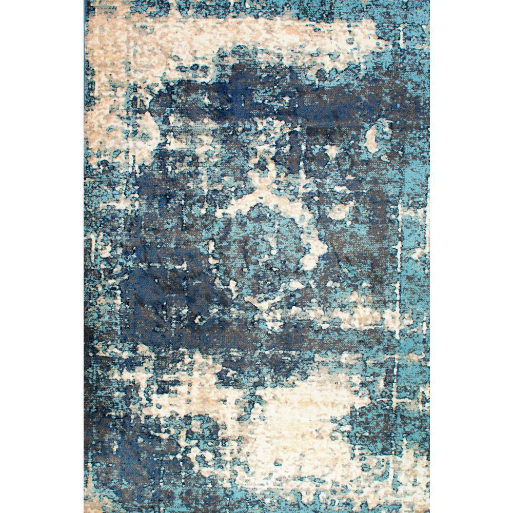 Nuloom Vintage Lindsy Blue 3 Ft X 5 Area Rug