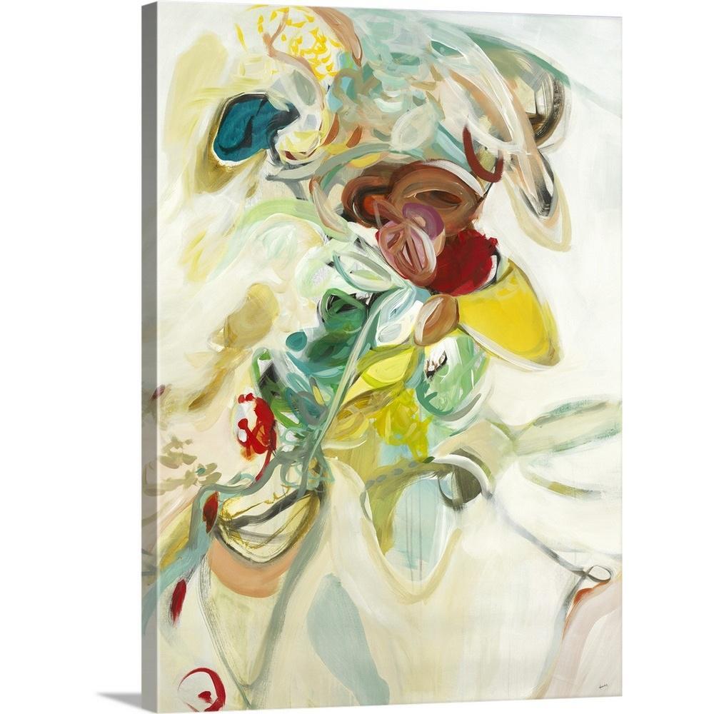 """Blissful"" by Sarah Stockstill Canvas Wall Art"