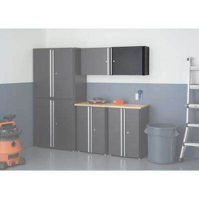19 in. H x 24 in. W x 12 in. D Steel Garage Wall Cabinet