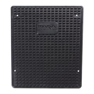 TimeCutter Lever Steer Rubber Anti-Vibration Floor Mat (Model Year 2011 and Newer)