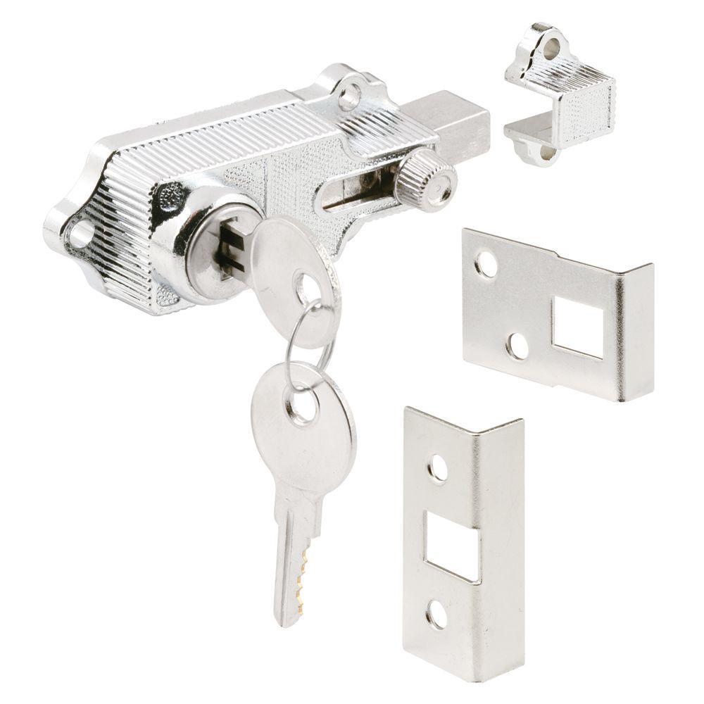 Chrome Plated Keyed Door Deadbolt Lock