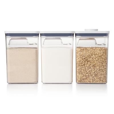 Good Grips 6-Piece Large Canister POP Container Set with Scoops