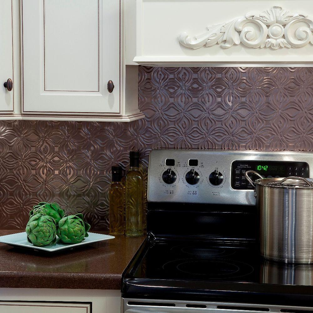 - Brushed Nickel - Tile Backsplashes - Tile - The Home Depot