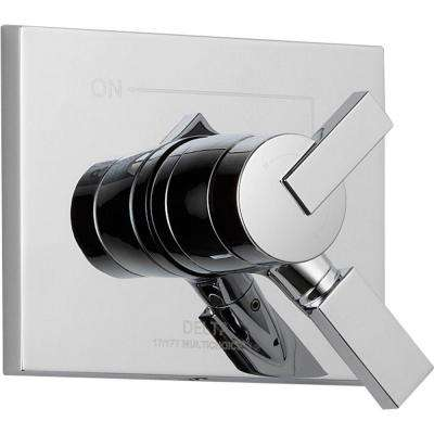 Vero Monitor 17 Series 1-Handle Volume and Temperature Control Valve Trim Kit in Chrome (Valve Not Included)