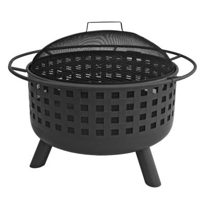 City Lights Memphis Black Fire Pit