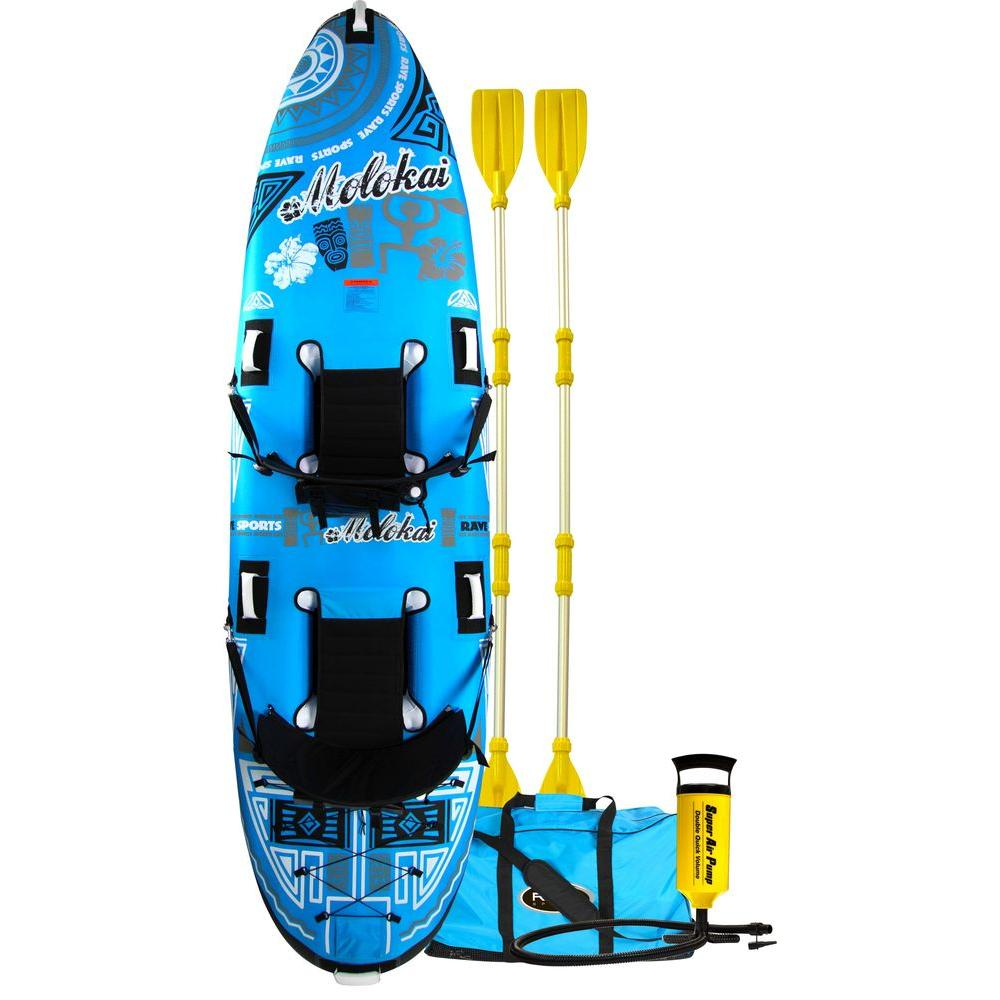 Rave Sports Molokai 2-Person Inflatable Kayak