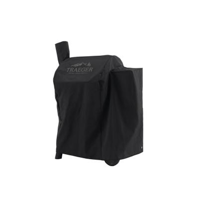 Traeger Pro 575 Full Length Pellet Grill And Smoker Cover Bac503 The Home Depot