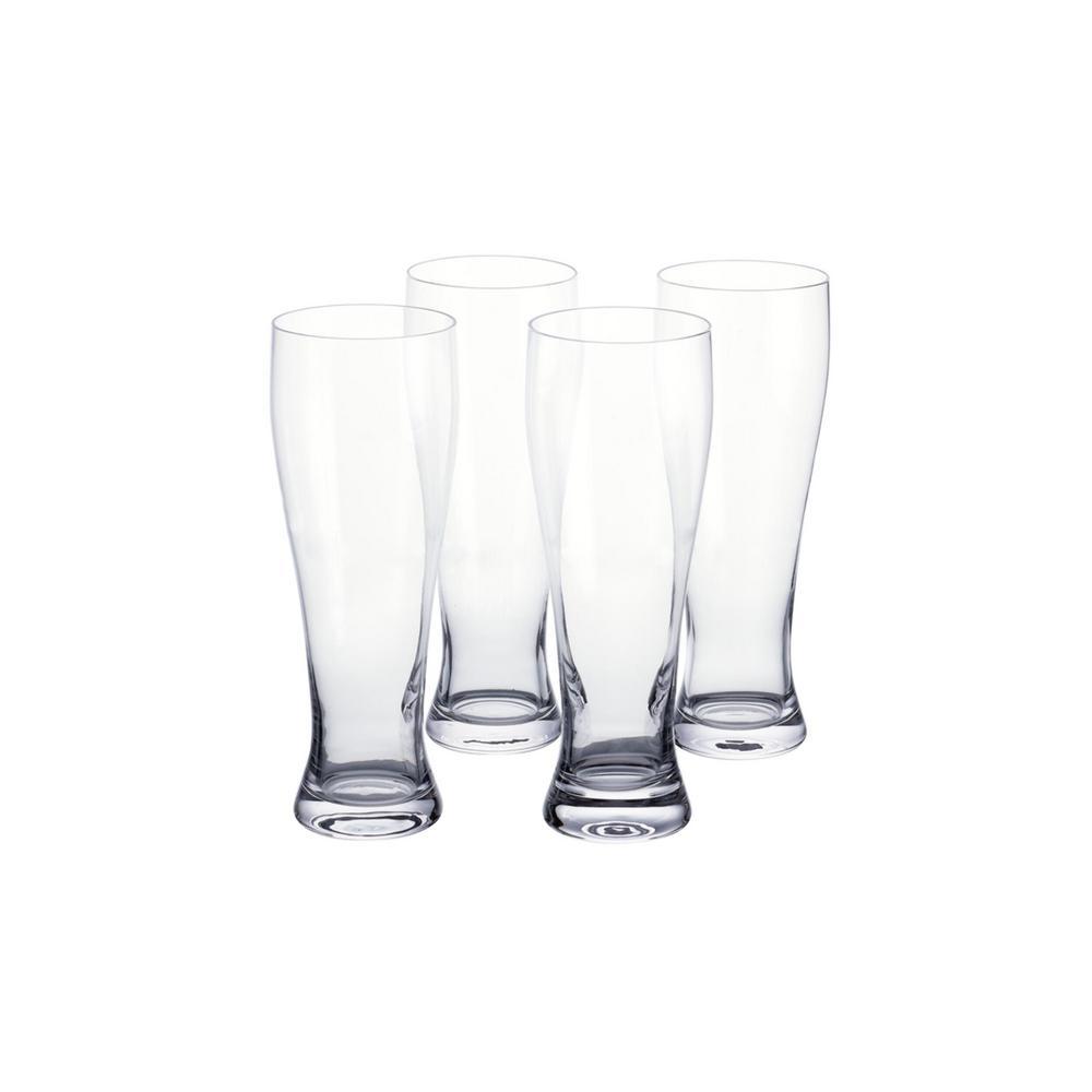 Home Decorators Collection 25.5 fl. oz. Weizen Beer Glasses (Set of 4)