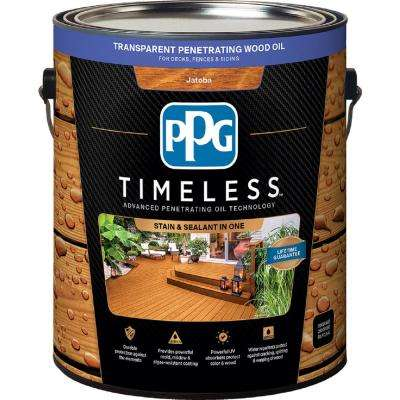 1 gal. TPO-8 Jatoba Transparent Penetrating Wood Oil Exterior Stain Low VOC