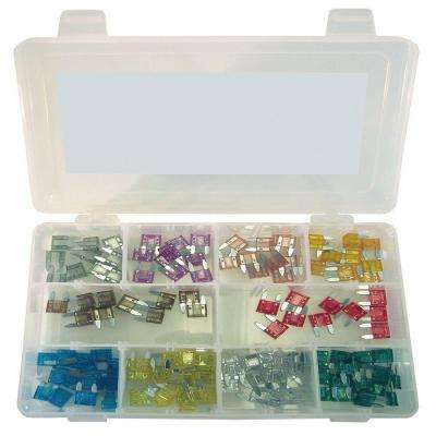 Mini Auto Fuse Assortment (120-Piece)