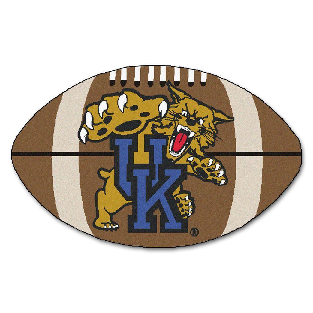 FANMATS NCAA University of Kentucky UK Logo Brown 1 ft. 10 ...
