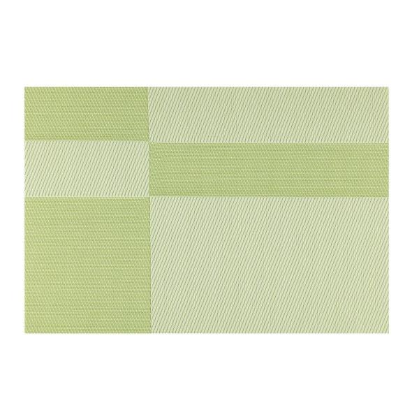 Kraftware EveryTable Green Twill Placemat (Set of 12)