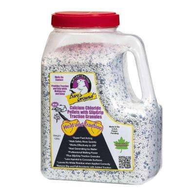 7 lb. Shaker Jug of Calcium Chloride Pellets with Traction Granules