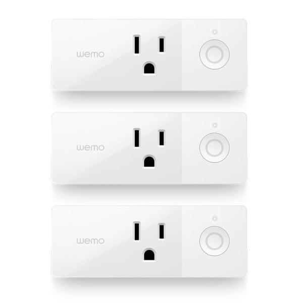AC/DC Mini Smart Plug Bundle (3-Pack)