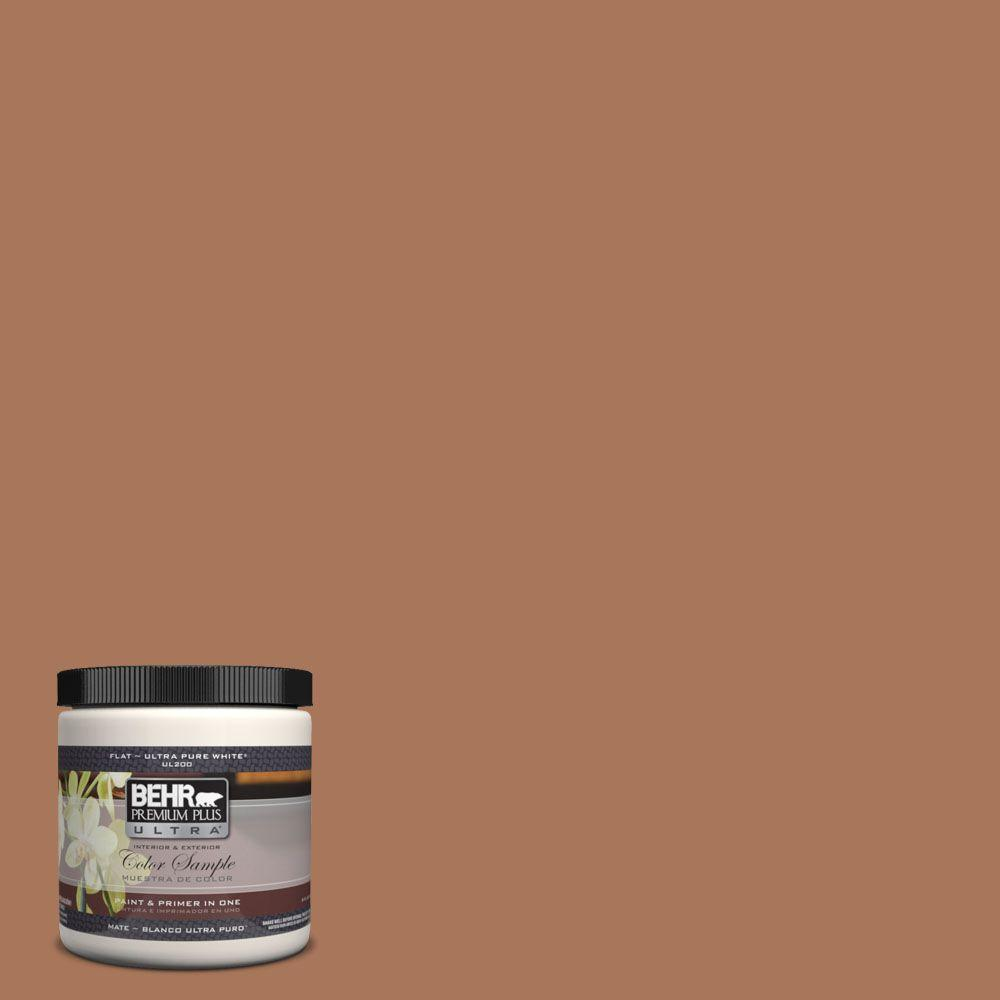 8 oz. #240F-5 Toasted Chestnut Interior/Exterior Paint Sample