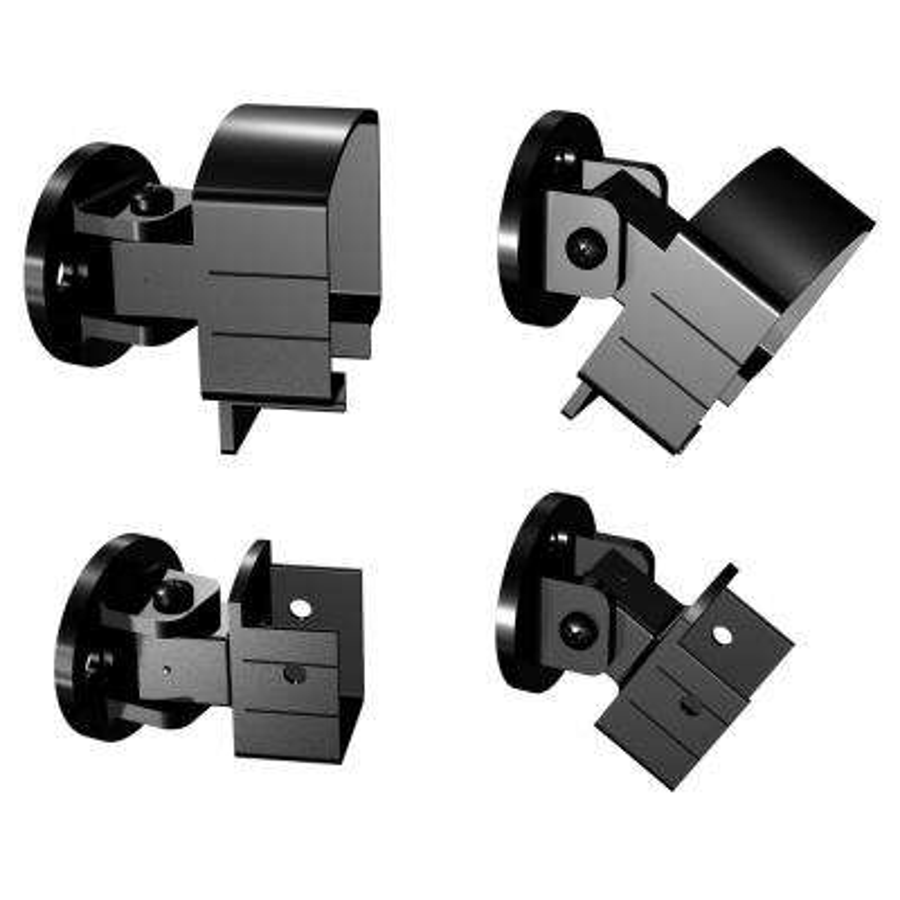 Black Aluminum Universal Connector