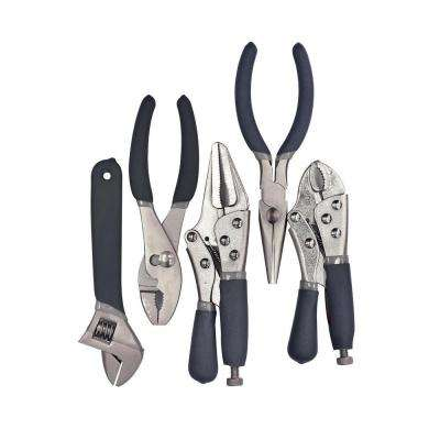 Locking Pliers Set (5-Piece)