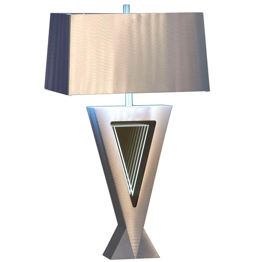 Nova Vectors Table Lamp 11589 The Home Depot